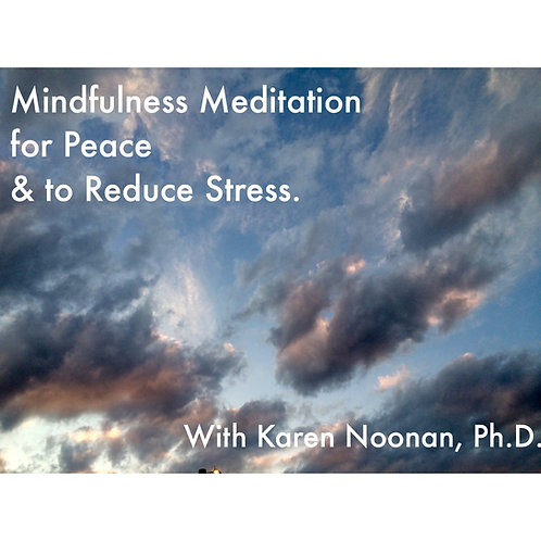 Mindfulness Meditation for Peace and Stress Relase