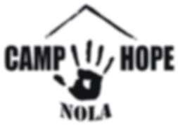 Volunteer New Orleans Camp Hope Logo