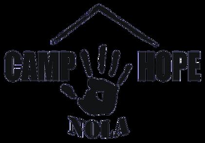Volunteer New Orleans Camp Hope Logo