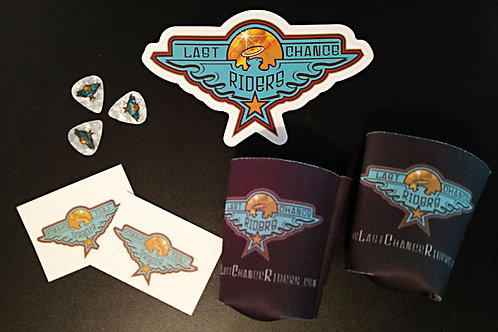 Stickers and Guitar Picks