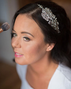 Love this shot of Samantha last year, mid glam session on her Wedding morning.jpg