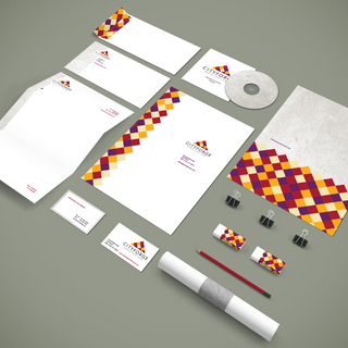 Cityforge Stationery and Logo