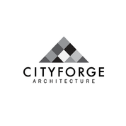 A black-and-white version of the Cityforge logo.