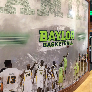 Baylor Men's Basketball Murals and Posters
