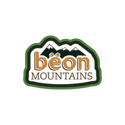 The Beon Mountains Iced Tea Logo.