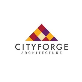 Logo for Cityforge, a fictional architecture company.