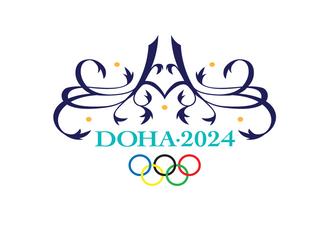 The Doha 2024 logo.