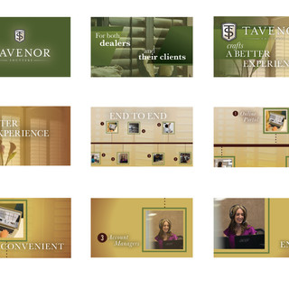 Tavenor Shutters Storyboards