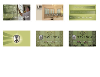 Continuing storyboards for Tavenor Shutters.