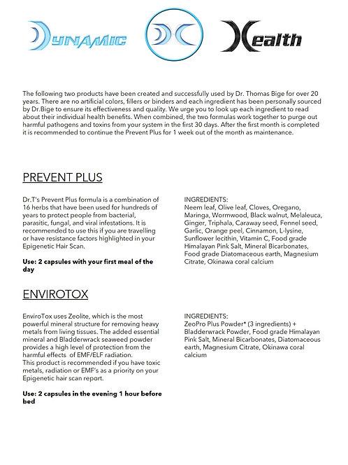 Prevent + & EnviroTox Combination
