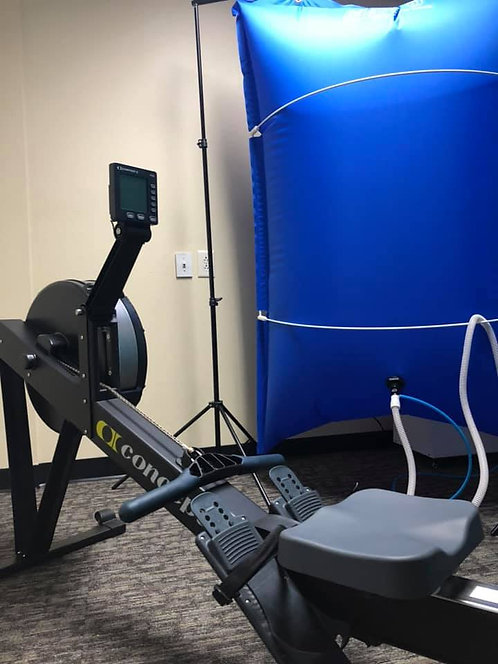 Exercise with oxygen training