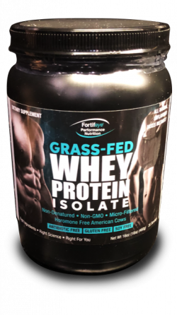 Fortifeye Whey Protein Isolate - Grass Fed