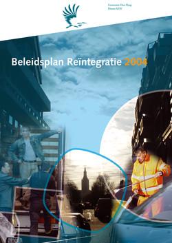 Jaarplan Reïntegratie 2004