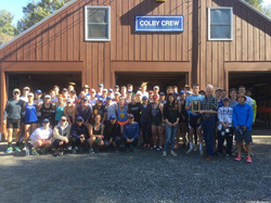 Thank you Colby College Crew Team