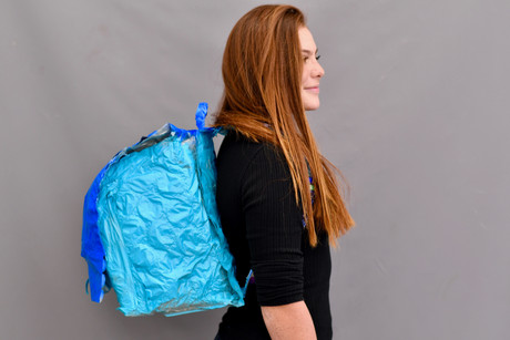 Plastic Backpack