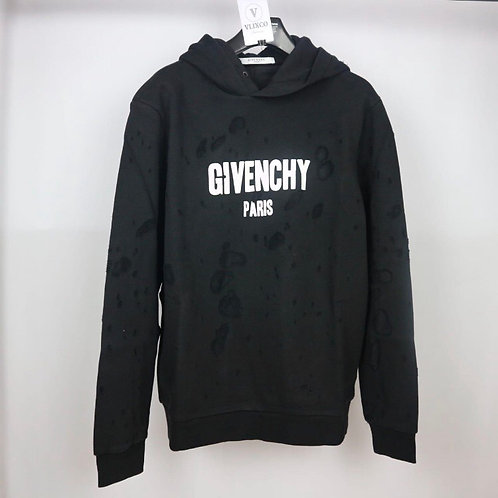 GIVENCHY DISTRESS HOODIE