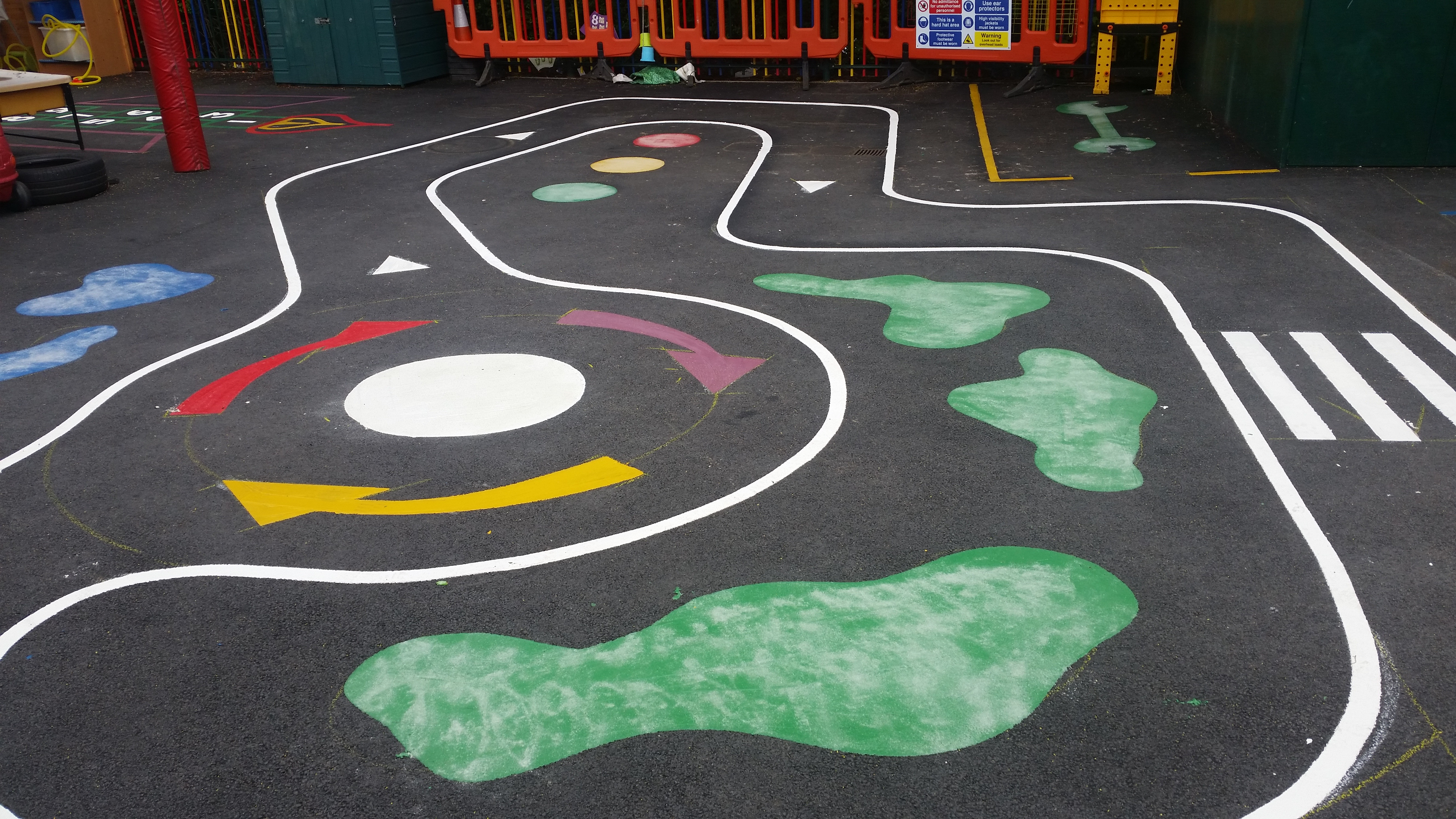 Roadway Playground Graphic