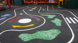 Roadway Playground Graphic