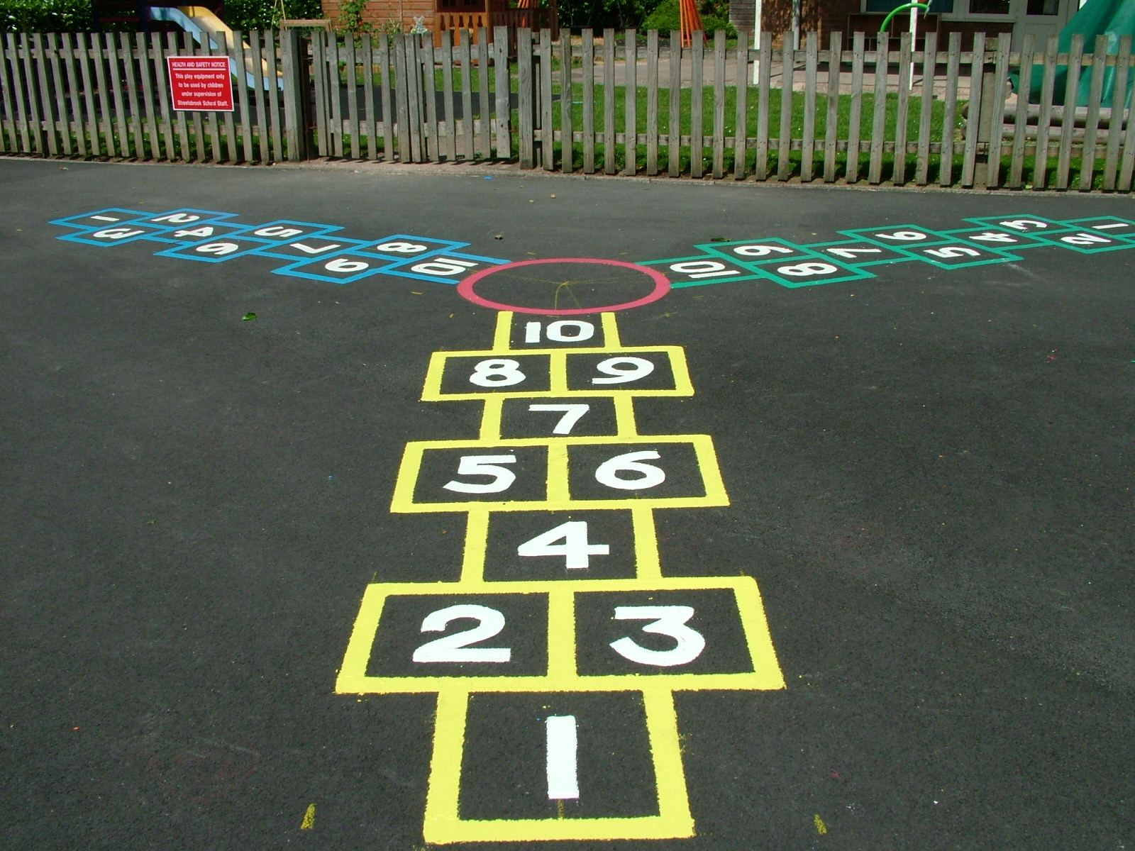 Hopscotch Playground Graphic