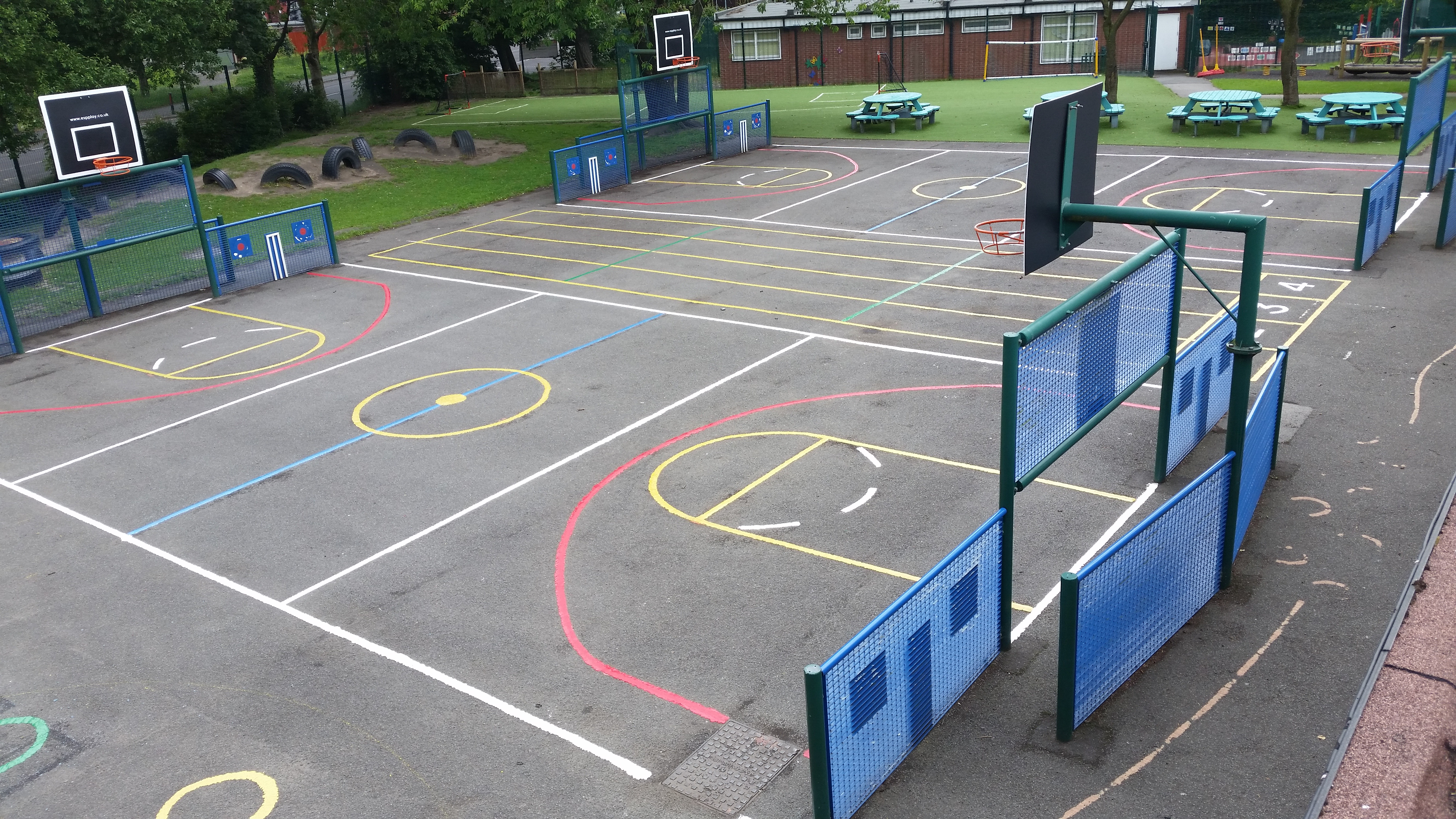 Court Playground Markings