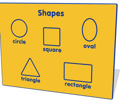 Shapes Wall Board Game