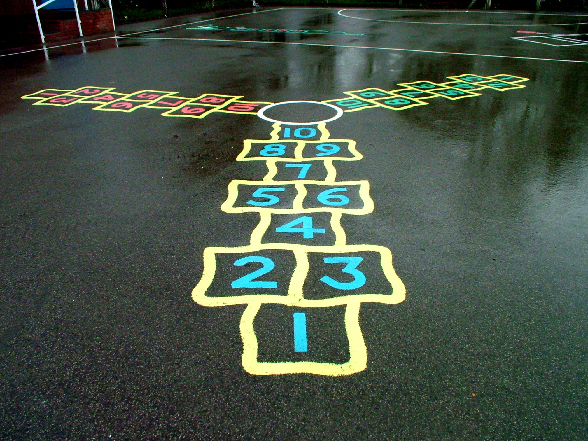 Hopscotch Graphic