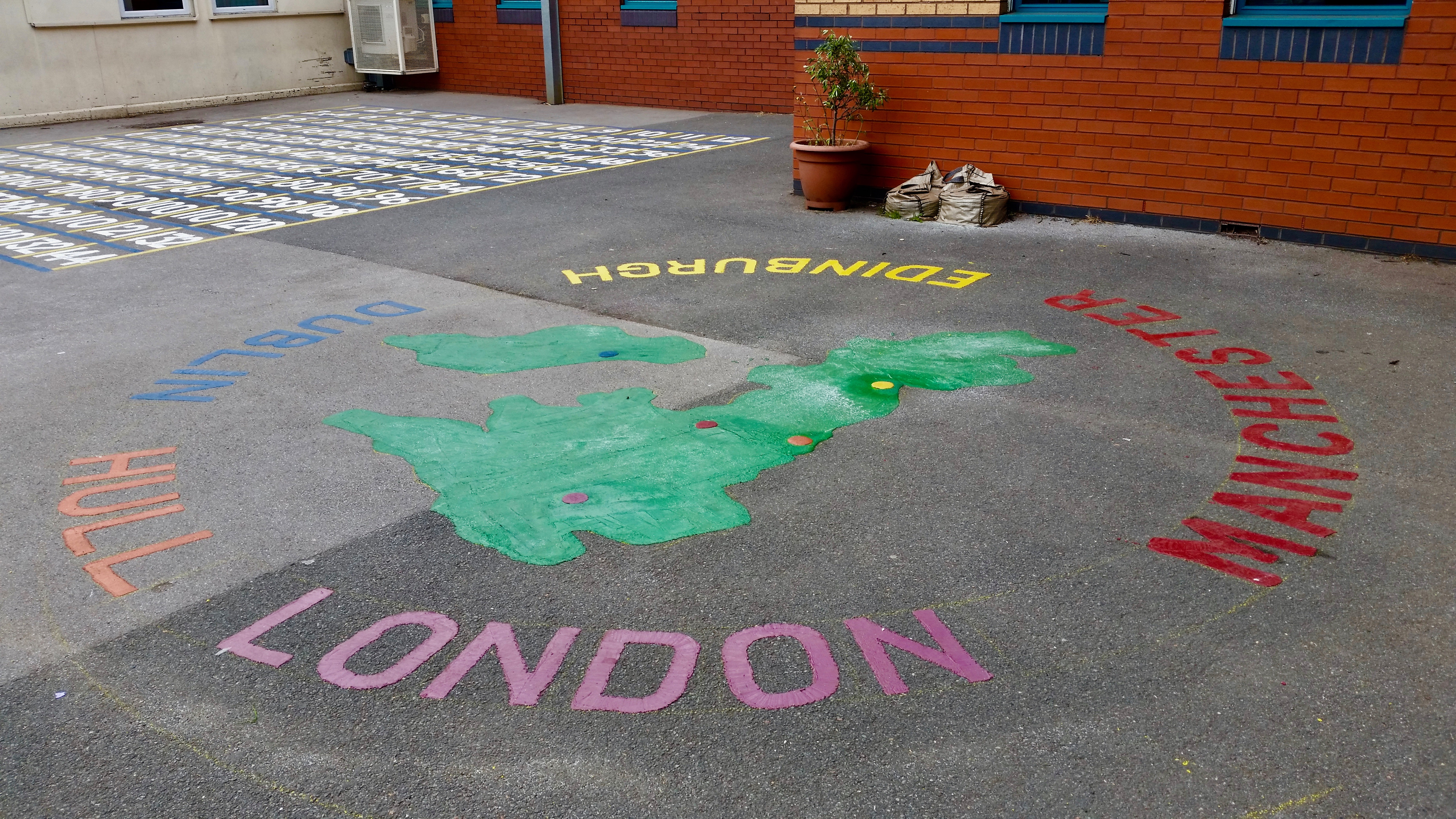 Map Playground Marking