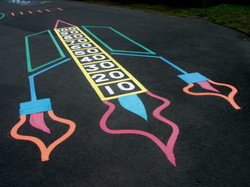 Rocket Playground Marking