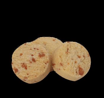 Cookie de Parmesão sem glúten e sem lactose