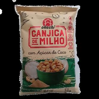 Canjica de Milho com Açúcar de coco