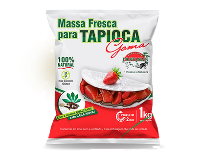 Massa Pronta Pantanal para Tapioca