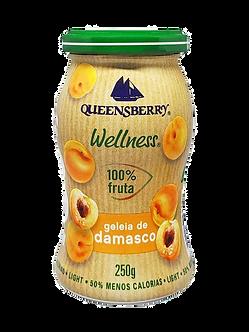Geleia de Damasco 100% fruta 250gr - Queensberry