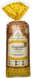 Pão Nutri-vida Granola e Passas