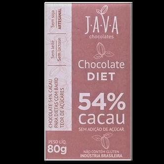 Chocolate Diet 54% 80g- Java Chocolates