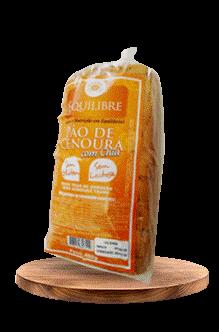 Pão de Cenoura Equilibre