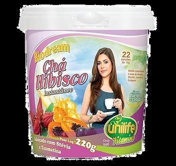 Chá de Hibisco Instantâneo Biodream 220g
