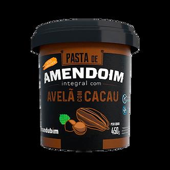 Pasta de Amendoim com Avelã e Cacau – 450g