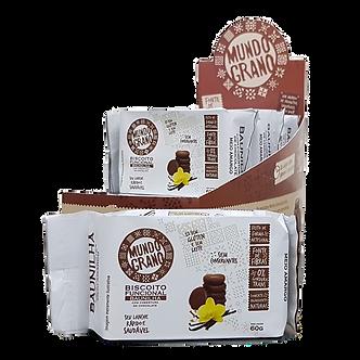 Biscoito Integral de Baunilha