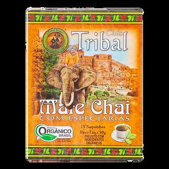 Chá de Erva Mate Chai Orgânica com Especiarias Tribal 30g