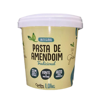 Pasta de Amendoim Terra dos Grãos Integral Tradicional – 1,01Kg