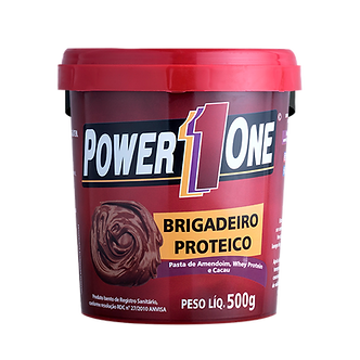 Pasta de Amendoim Sabor Brigadeiro Power One 500g