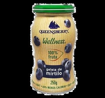 Geleia de Blueberry 100% Fruta 250g – Queensberry