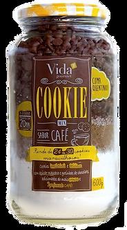 Cookie Mix sabor Café - Vida Gourmet  440g