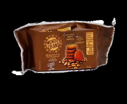 Biscoito Integral de Café com Chocolate