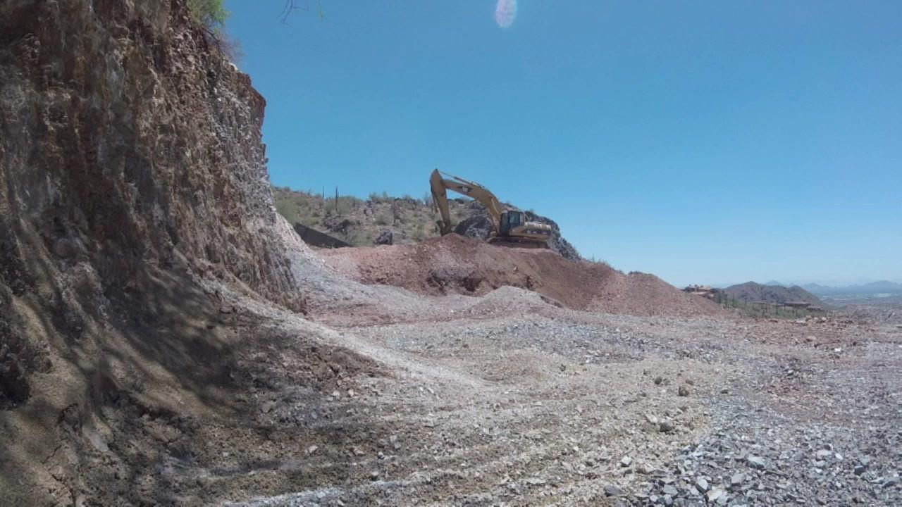 Hard Dig in DC Ranch, AZ