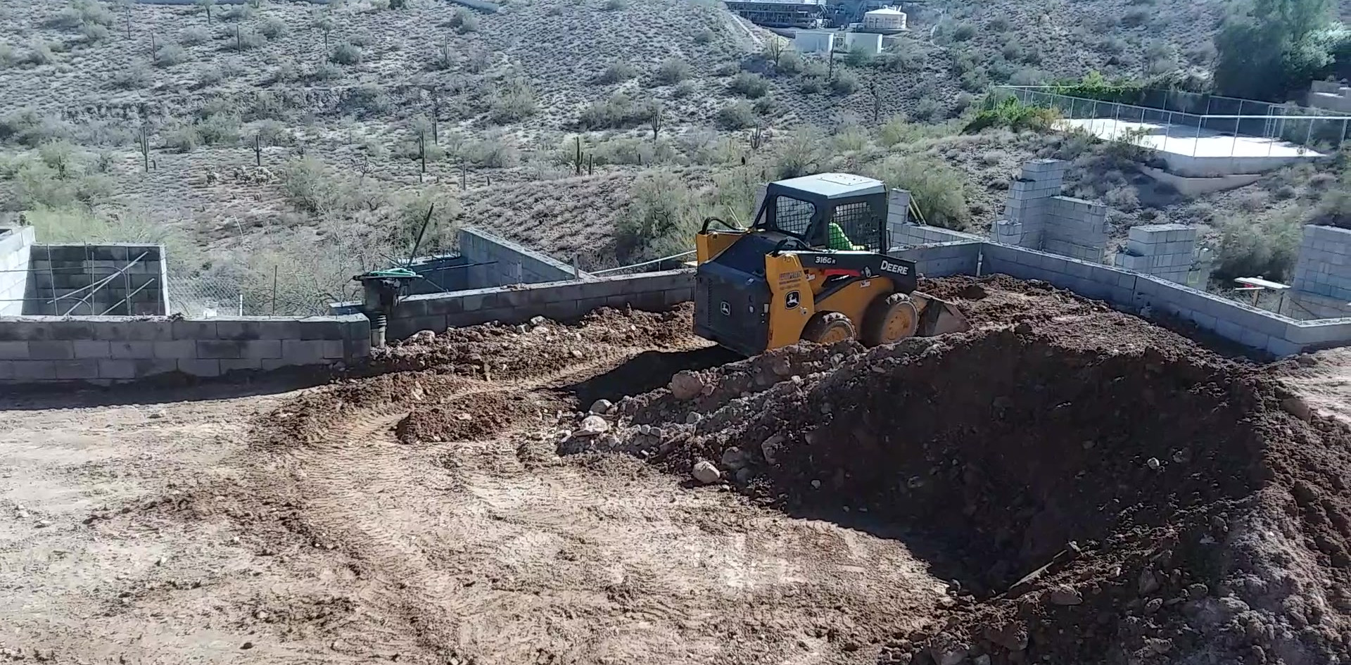 Backfilling Retaining Walls