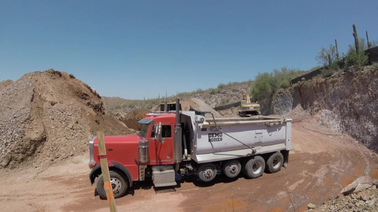 Loading and Hauling off Material in DC Ranch