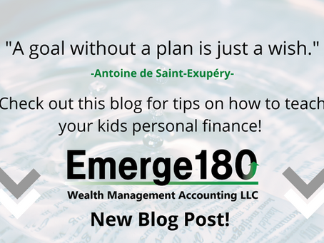 3 Ways to Teach Your Kids About Personal Finance