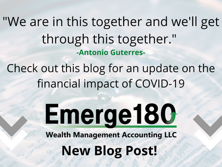 Why You Can't Ignore The Financial Impact of COVID-19 - Davison, Laura