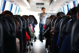 The passengers in the bus which are tour
